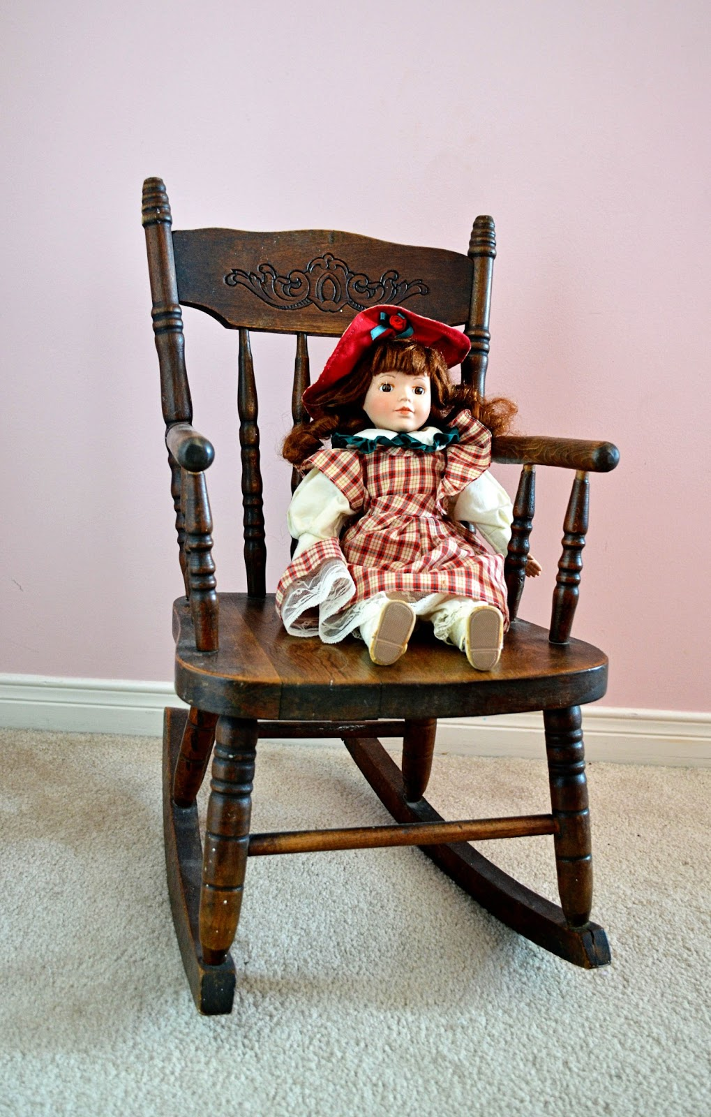 Antique Doll Chair Antique Furniture. - Shop Dolls Wooden High Chair Antique Furniture Www