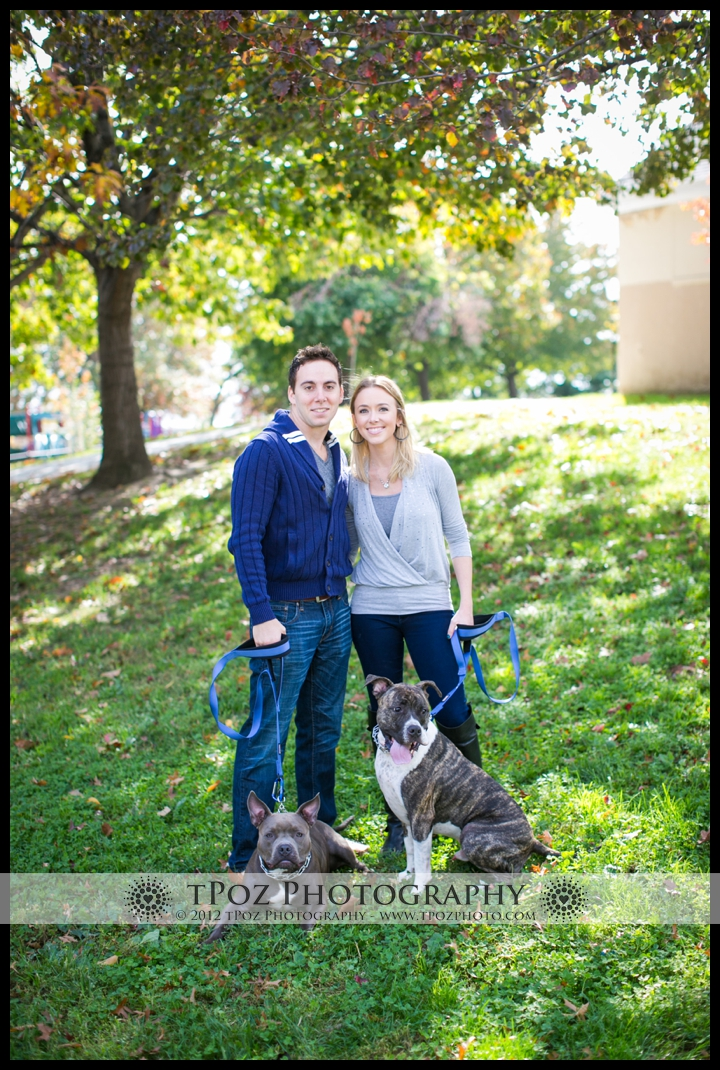Baltimore Family Portrait with Dogs
