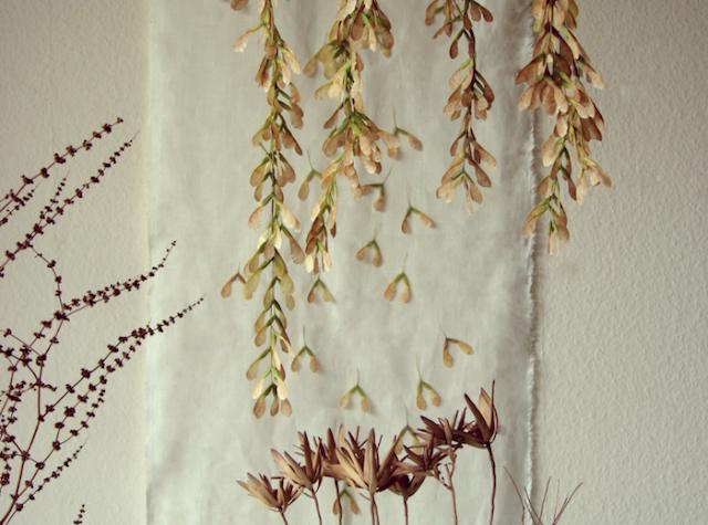 Abilmente 2015, fiori di carta, rame e lino, Natale 2015 nell'atelier tecniche creative