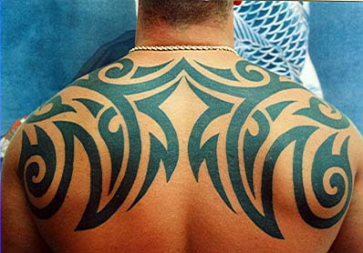 Tribal Tattoos for Men back