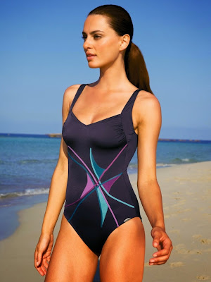 Catrinel Menghia showing off perfect little body in Peter Kahn swimwear models