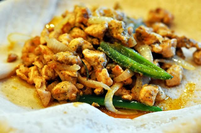 Chicken Tibs - Mariam's Restaurant - Allentown, PA | Taste As You Go
