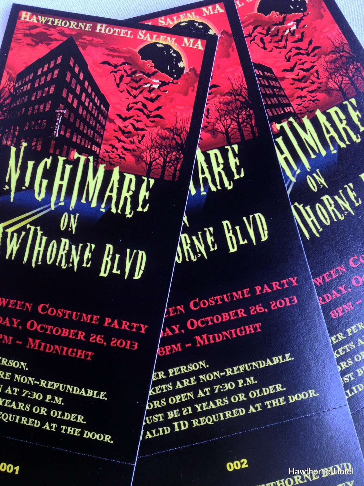Hawthorne Hotel: The Tickets Are Here, The Posters Are Here
