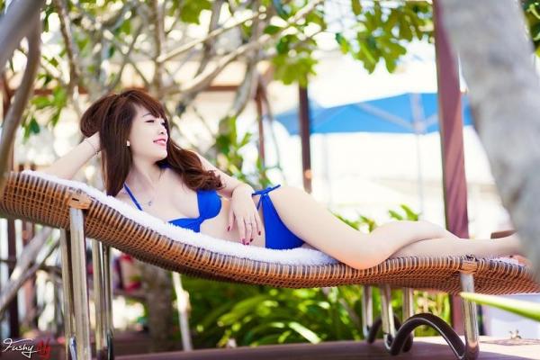 Ảnh gái đẹp HD Ngân Obe Mùa hè nóng bỏng 5