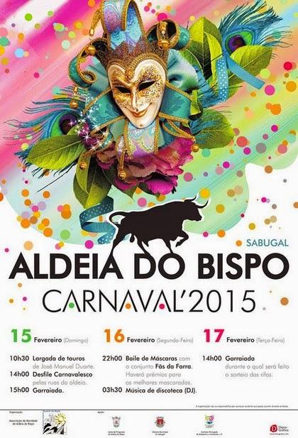 Aldeia do Bispo(Sabugal)- Carnaval Taurino 2015- 15 a 17 Fevereiro