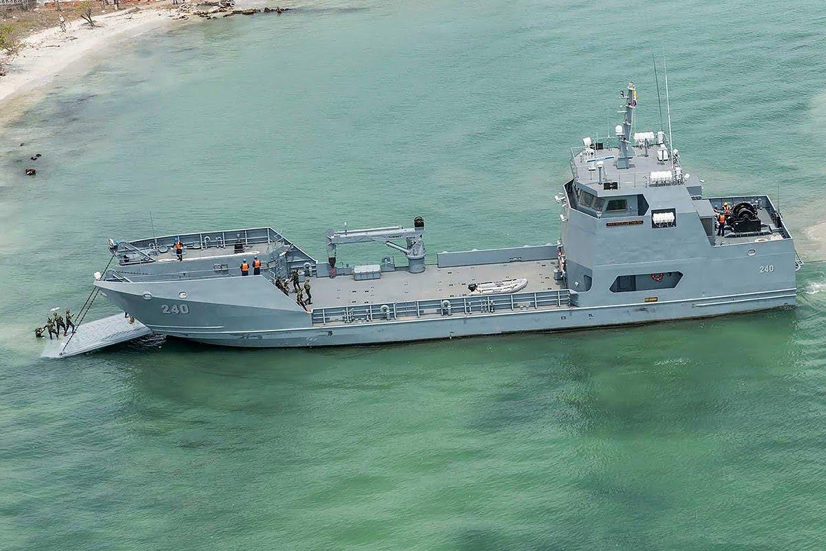 La Armada de Colombia contará con un nuevo Buque de Desembarco Anfibio construido por  COTECMAR. El ARC Golfo de Urabá.