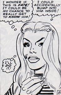 Amazing Spider-Man #36, Gwen Stacy, stalker