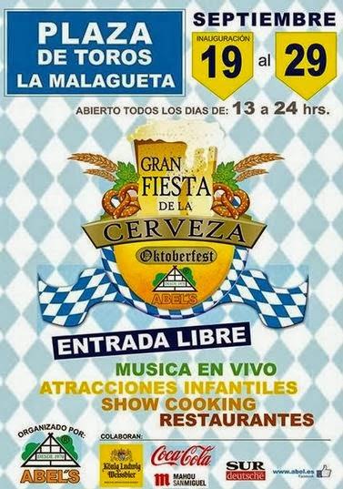 IV Edición de la Fiesta de la Cerveza. Málaga