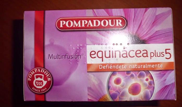 Multiinfusión de Equinácea Plus5, Pompadour