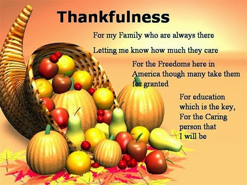 Famous Thanksgiving Greeting Card Poems