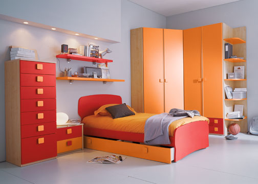 id es pour chambres d 39 enfants id es d co pour maison moderne. Black Bedroom Furniture Sets. Home Design Ideas