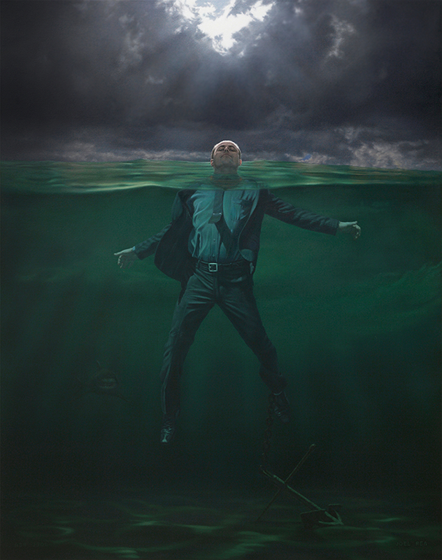 07-See-Me-Joel-Rea-Paintings-of-People-and-Animals-in-Nature-www-designstack-co