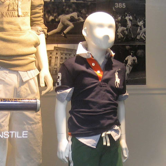 Young Polo Lout - In the Lord & Taylor window a while ago.