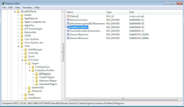 Error Number 2320 Citrix Online Plugin Configuration Manager