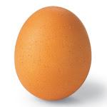 Оранжеви яйца с натурални бои