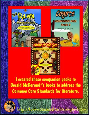 companion packs Gerald McDermott