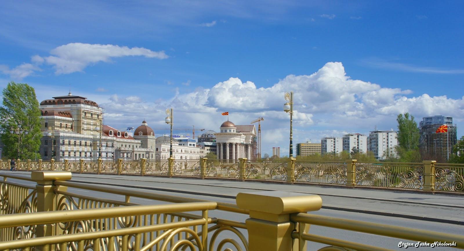 """Makedoniens Hauptstadt Skopje """"Die wiedererwachte Perle des Balkan"""" - Tourismus in Mazedonien"""