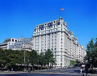 The Willard Hotel in Washington, D.C. is thought to be haunted by the spirit of a former U. S. President