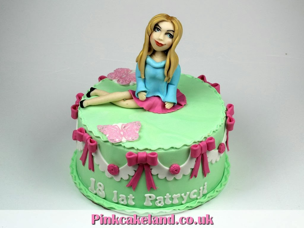 18th Birthday Cake for Girl in London