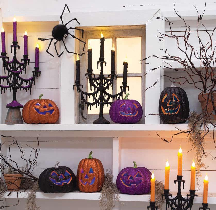 raz halloween black and bling 2011 - Raz Halloween Decorations