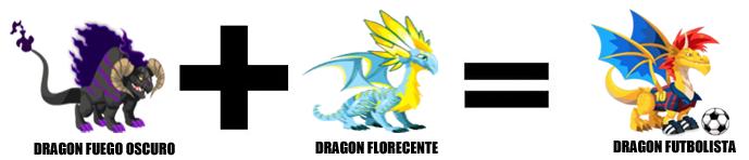 como sacar al dragon futbolista en dragon city combinacion 3