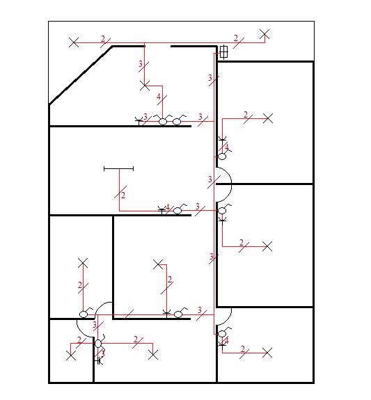 Instalasi listrik rumah 1 phase electpedia yang sedikit sulit adalah menghitung jumlah kabel disetiap jalurnya sebenarnya harus dibuat diagram pengawatan terlebih dahulu ccuart Images