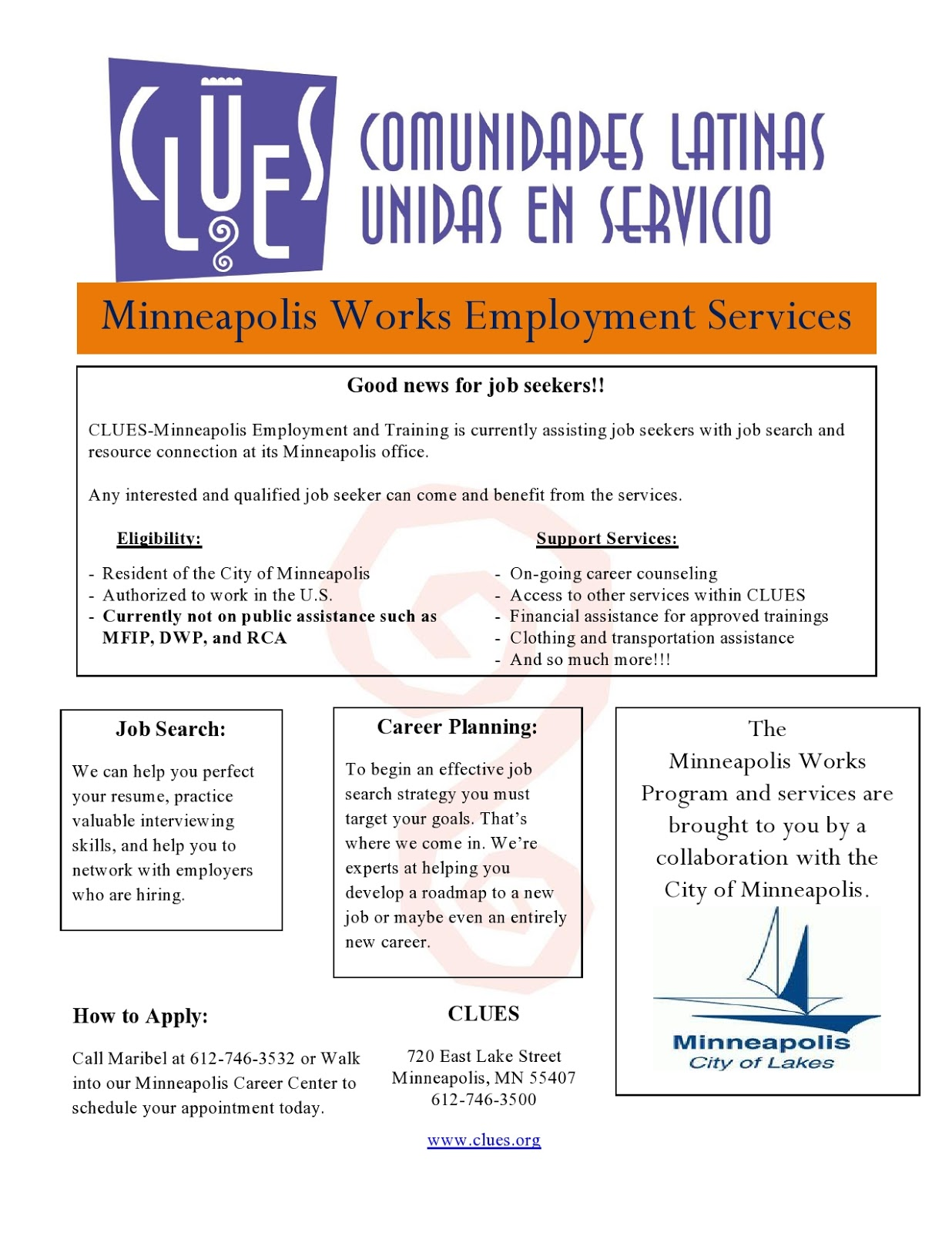 clues jobs  clues employment services and contact