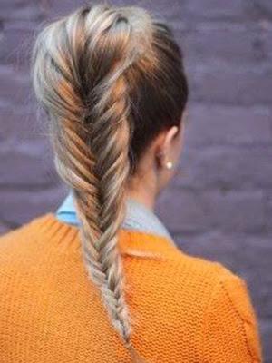 trenzas espigas peinados 2014