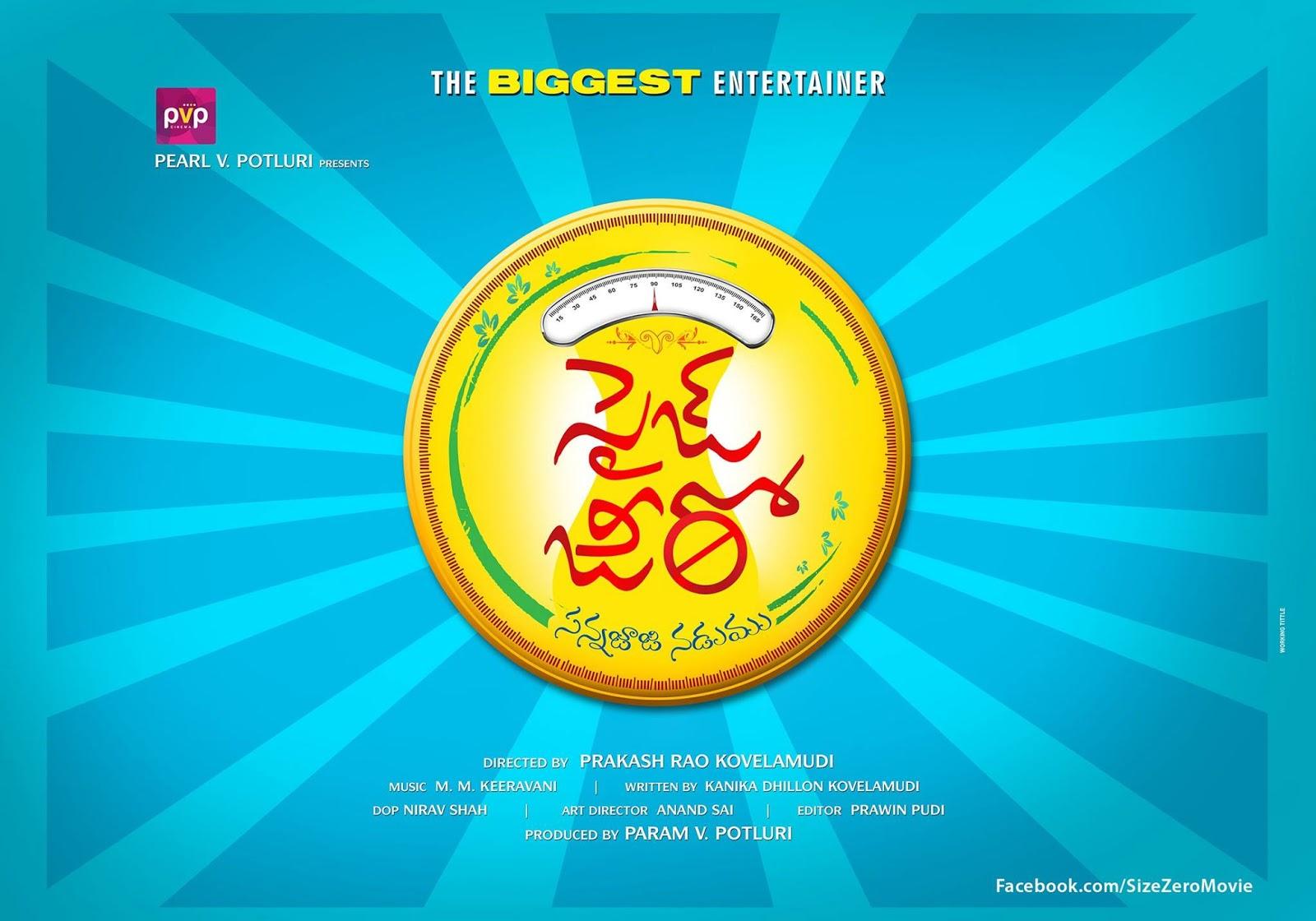 Size Zero Movie First Look HD Poster & Stills | Anushka | Arya