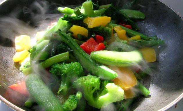 C mo cocinar frutas y verduras al vapor inquietudes de - Cocinar verduras para dieta ...