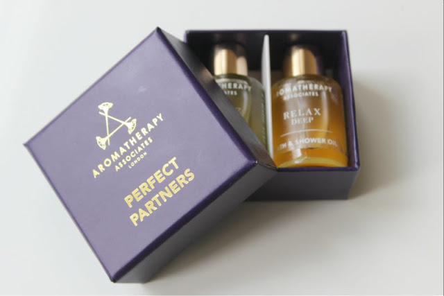 Aromatherapy Associates Perfect Partner Bath and Shower Oil Kit