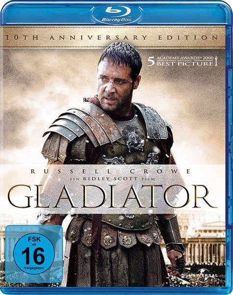 Gladiator Blu-ray Dvd Case Box