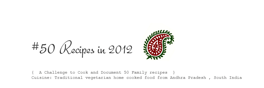 50 recipes in 2012