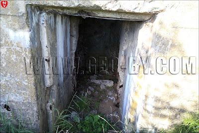 Вход в одинадцатый бункер