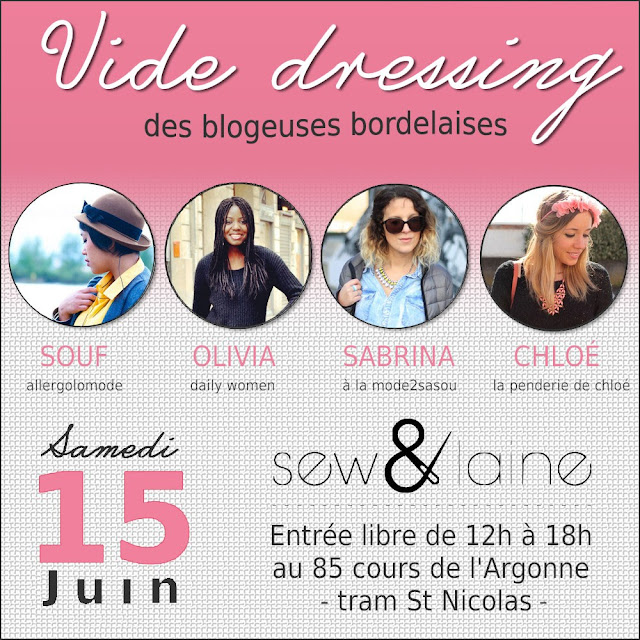 Vide dressing mode Bordeaux