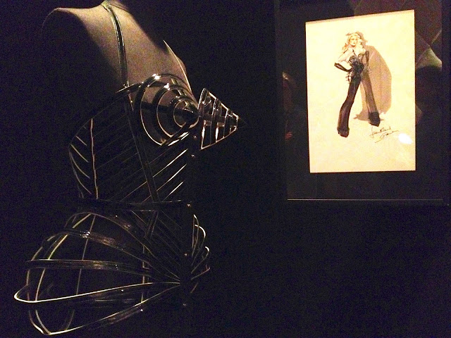 Madonna tour sketch Jean Paul Gaultier Exhibit, Brooklyn Museum, 2013