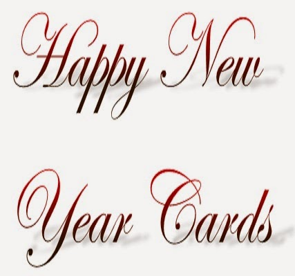 New Year Cards, Happy New Year cards, Real Cards