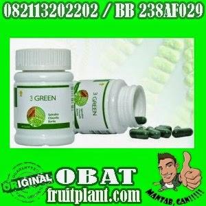 3 GREEN HWI ORIGINAL [082113202202] Obat Kesehatan Kaya Manfaat