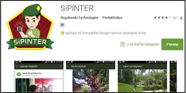 Kodim IV Diponegoro Gunakan Aplikasi SiPinter Untuk Operasi Khusus