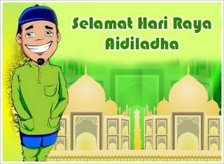 Gambar Ucapan Idul Adha 2012, kartun, bagus, keren