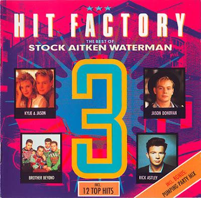 HIT FACTORY - Volume 3 (Various Artists) 1989 SAW Pwl 80\'s Hi-NRG Eurobeat Italo Disco \