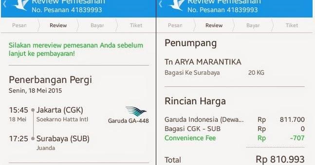 ... Provinsi) dengan Maskapai Garuda Indonesia??? ~ Saatnya Wisata