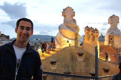 Roof and Chimneys-shaped warriors of Casa Milà