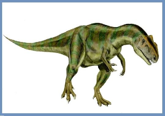 Allosaurus : Dinosaurios del mundo