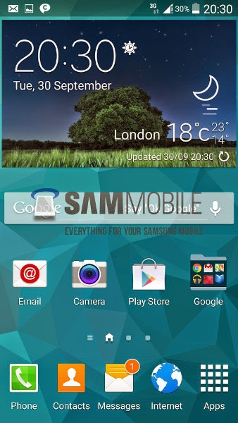 Samsung Galaxy S5 Android L spotted