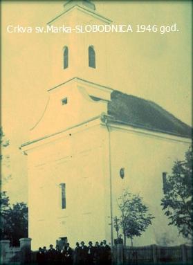 Crkva u Slobodnici 1946 godine