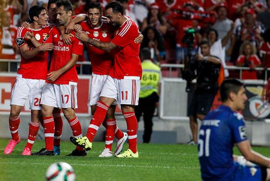 Benfica 3 x 2 Moreirense - Campeonato Português 2015/16