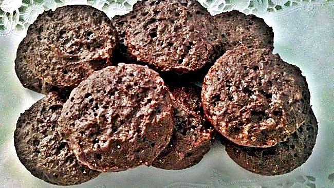 Bizco-galletas integrales de yogur y cacao