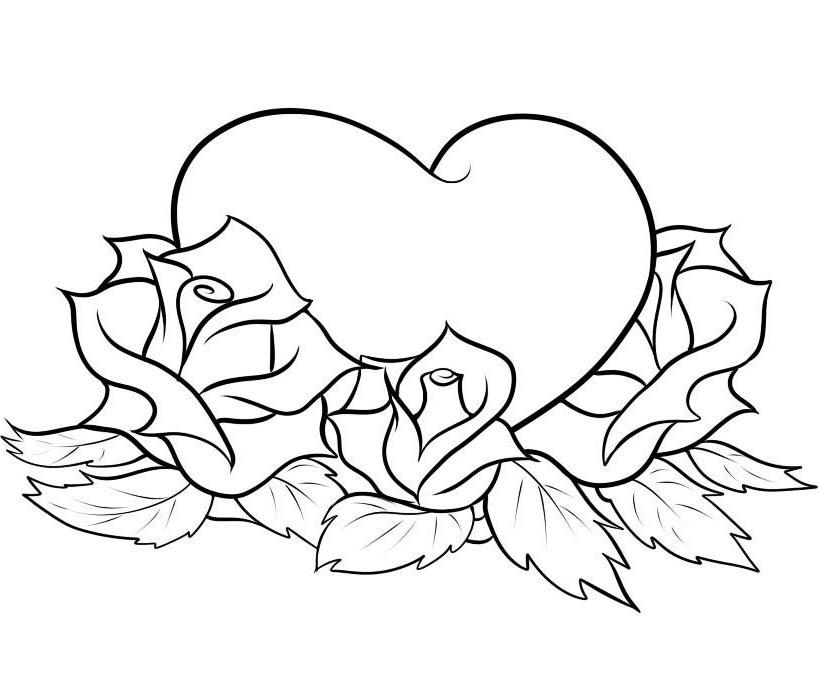 Corazones Y Rosas Para Dibujar picture gallery