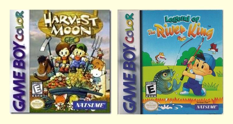 harvest moon de game boy color: